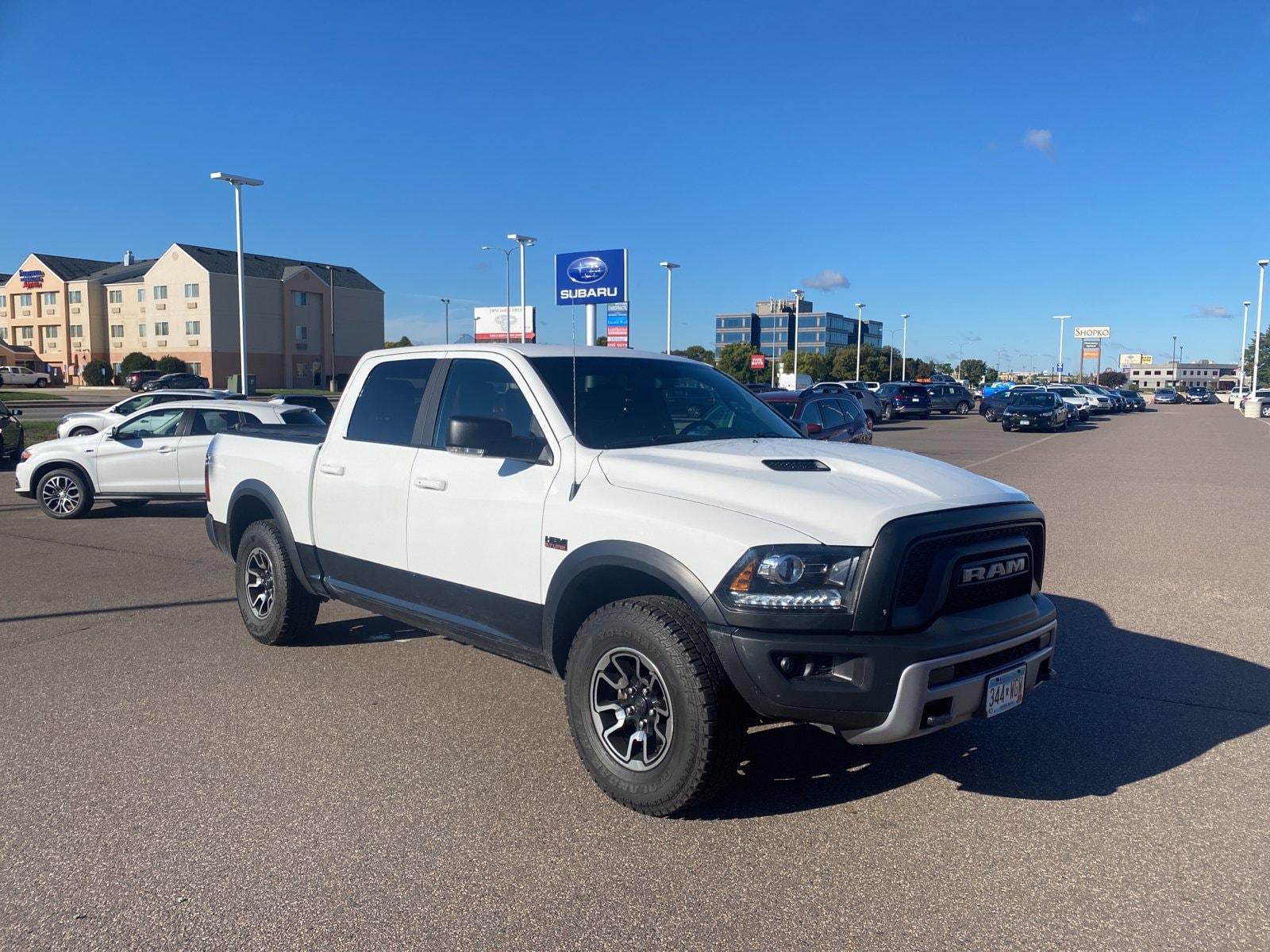 Used 2017 RAM Ram 1500 Pickup Rebel with VIN 1C6RR7YTXHS601377 for sale in Saint Cloud, Minnesota