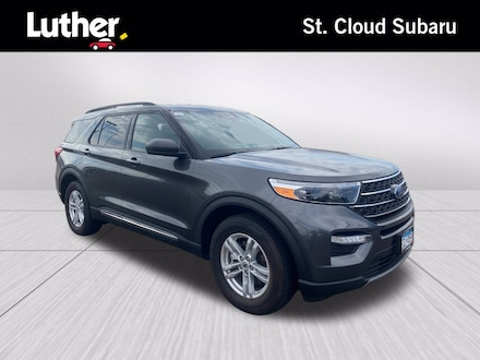 Featured 2020 Ford Explorer XLT SUV for sale in Saint Cloud, MN