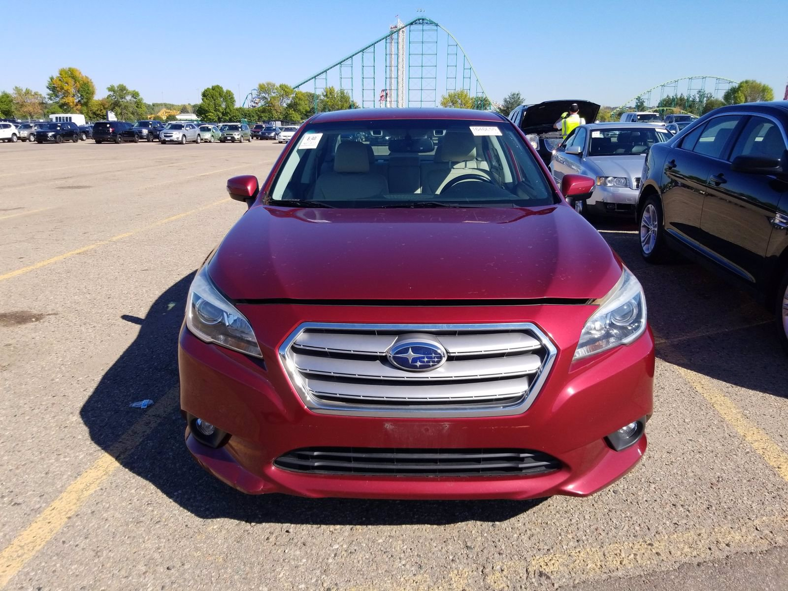 Used 2015 Subaru Legacy 2.5i Premium with VIN 4S3BNBF69F3044250 for sale in Saint Cloud, Minnesota