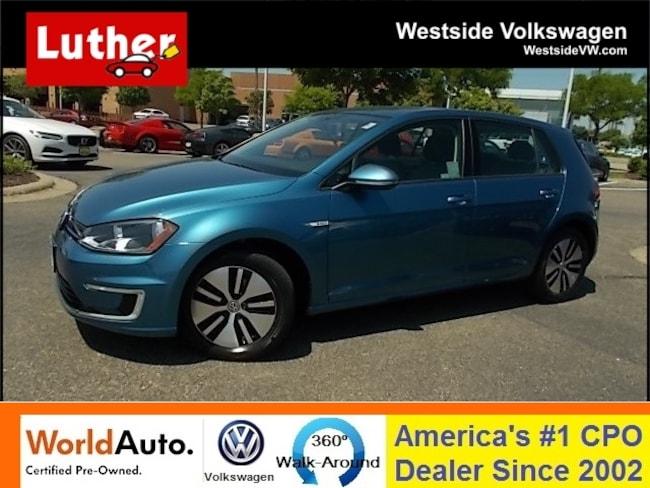 2016 Volkswagen e-Golf Hatchback