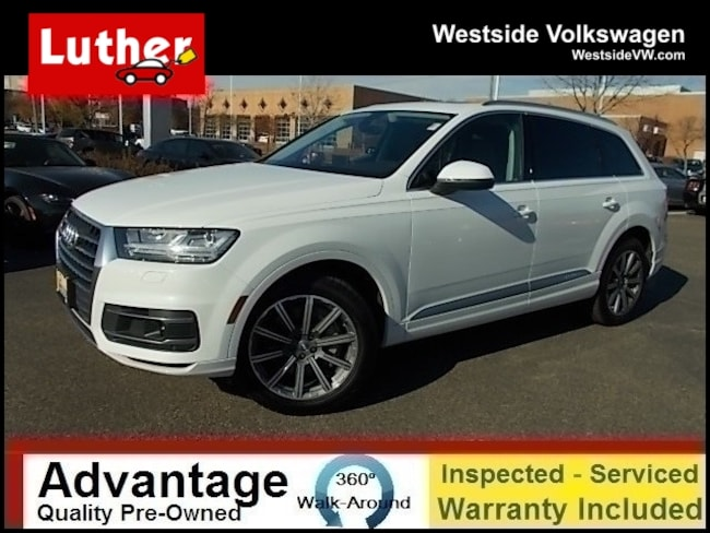 Used 2018 Audi Q7 For Sale at Luther Westside Volkswagen | VIN