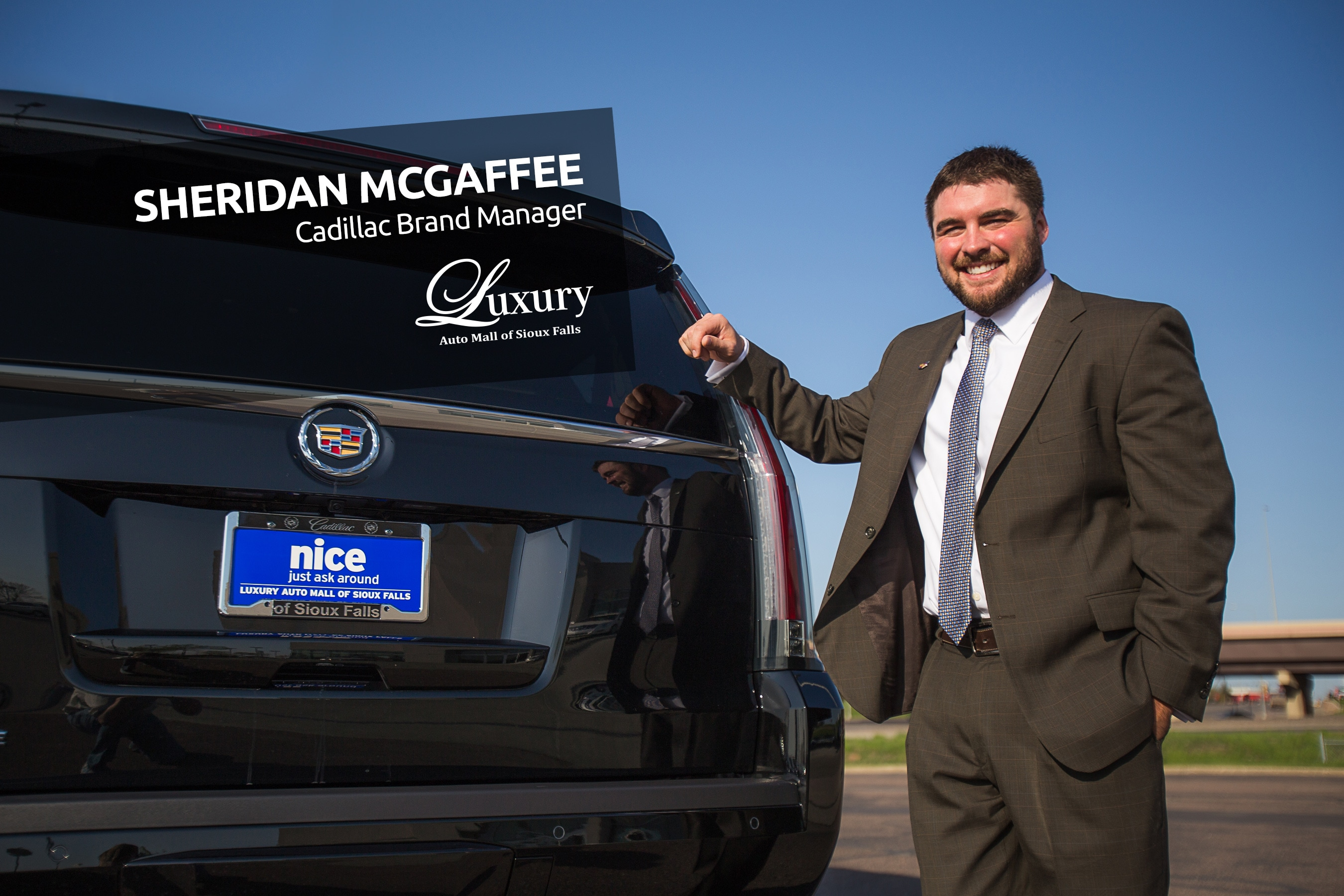Meet Us Monday Sheridan McGaffee Cadillac Brand Manager at Luxury
