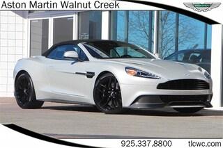 2017 Aston Martin Vanquish Volante Convertible