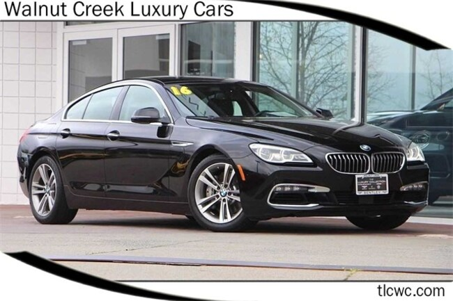 2016 BMW 6 Series 640i Sedan