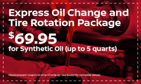 Express Oil Change and Tire Rotation Package