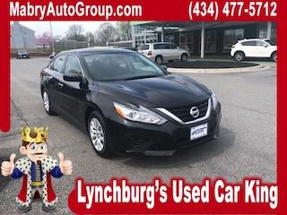 Used 2017 Nissan Altima 2.5 S Sedan for sale in Lynchburg VA