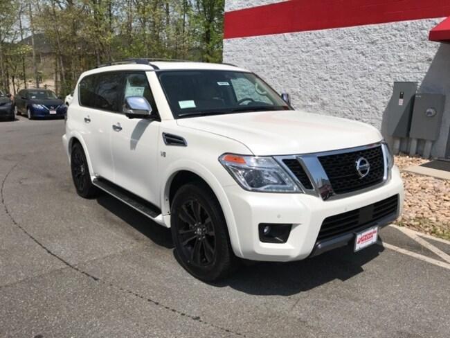 New 2019 Nissan Armada Platinum SUV for sale in Lynchburg VA