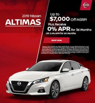 New 2019 Nissan Altima - Oct '19