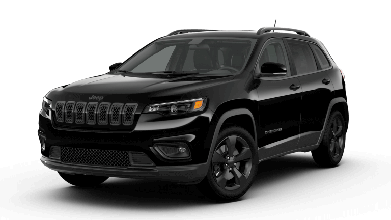 A black 2019 Jeep Cherokee Altitude