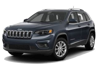 A silver 2019 Jeep Cherokee
