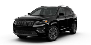 A black 2019 Jeep Cherokee High Altitude