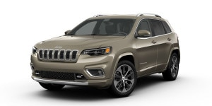 A 2019 Jeep Cherokee Overland