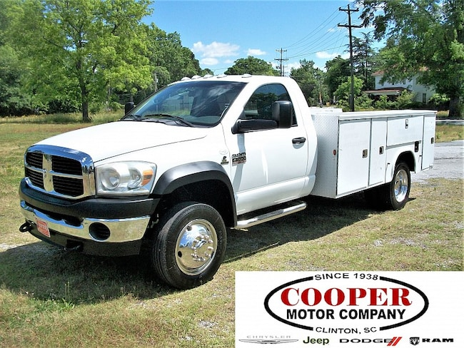 2008 Dodge Ram 4500 HD Chassis ST/SLT Truck Regular Cab