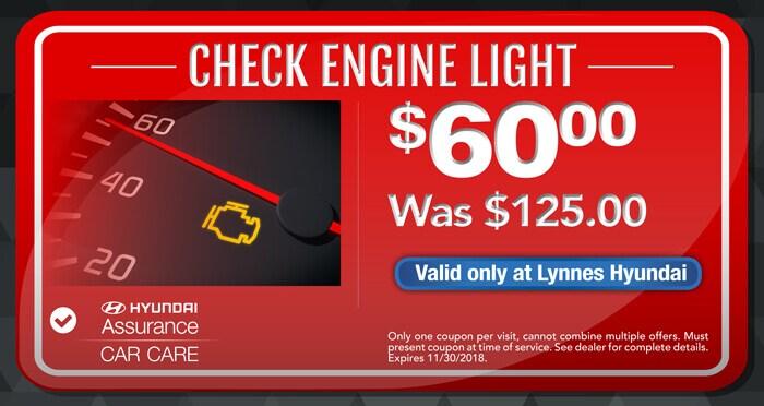 Service Specials | Lynnes Hyundai