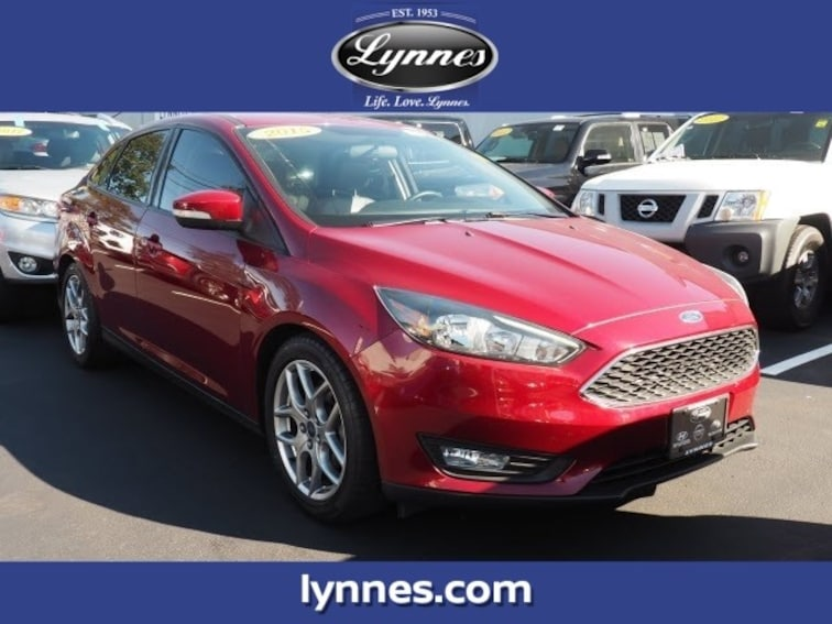 Used 2015 Ford Focus SE Sedan HA4712P for sale near Jersey City