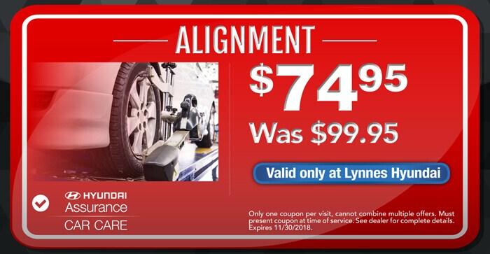 Service Specials Lynnes Hyundai