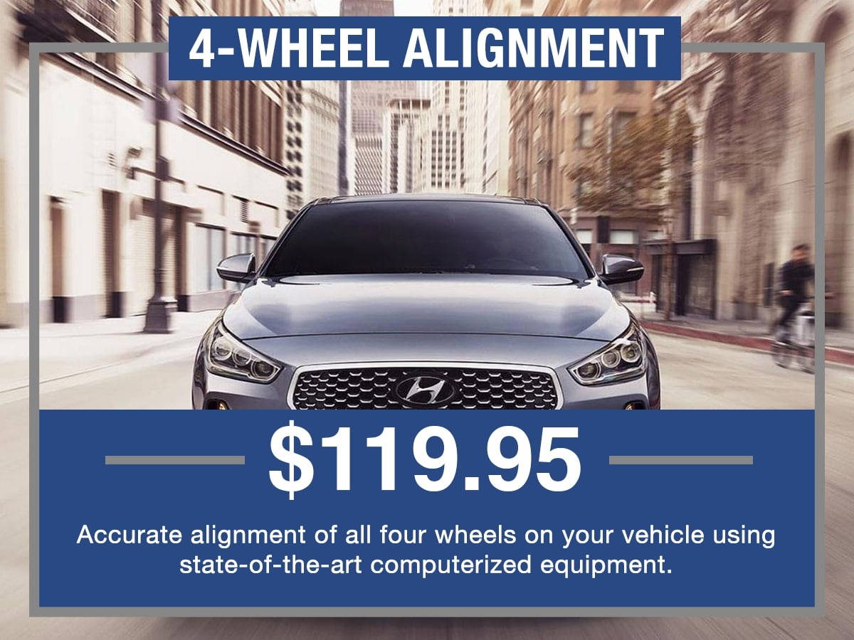 Four Wheel Alignment Service Special