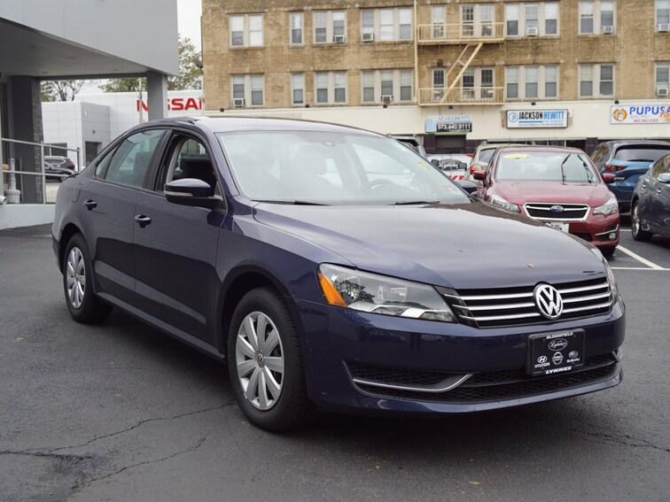 Used 2013 Volkswagen Passat S S PZEV  Sedan 5M S191291C for sale near Jersey City