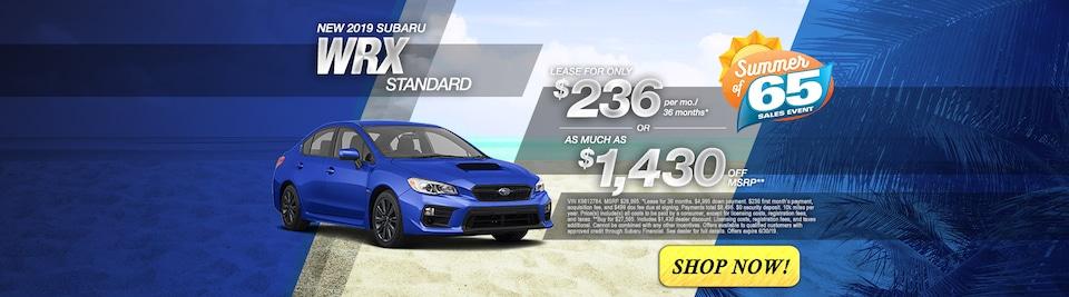 2019 Subaru WRX Standard