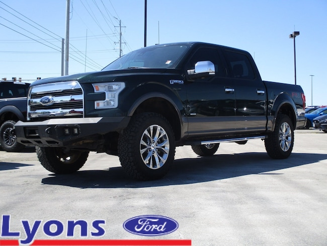 2016 Ford F-150 Lariat 4WD SuperCrew 145 Lariat