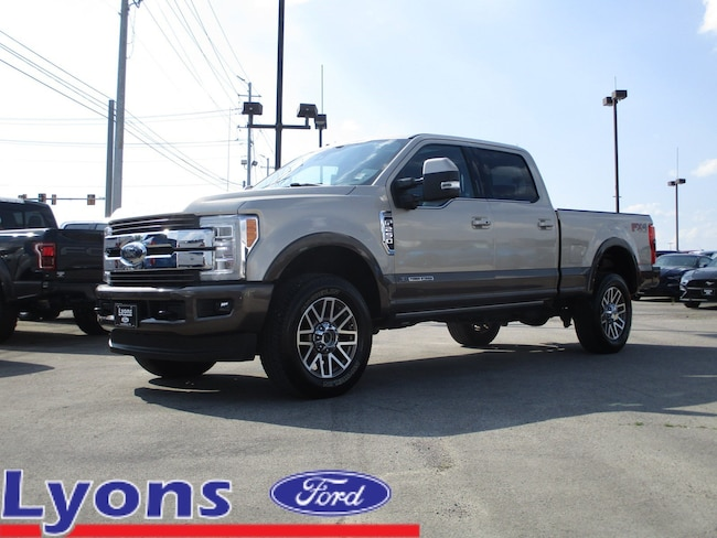 2017 Ford Super Duty F-250 SRW King Ranch King Ranch 4WD Crew Cab 6.75 Box