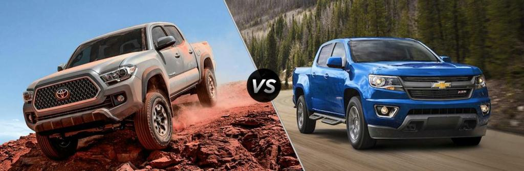 2018 Toyota Tacoma vs 2018 Chevy Colorado | Toyota of Lawton