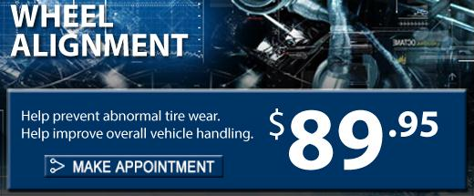 Wheel Alignment, Fresno Subaru, Make an appointment