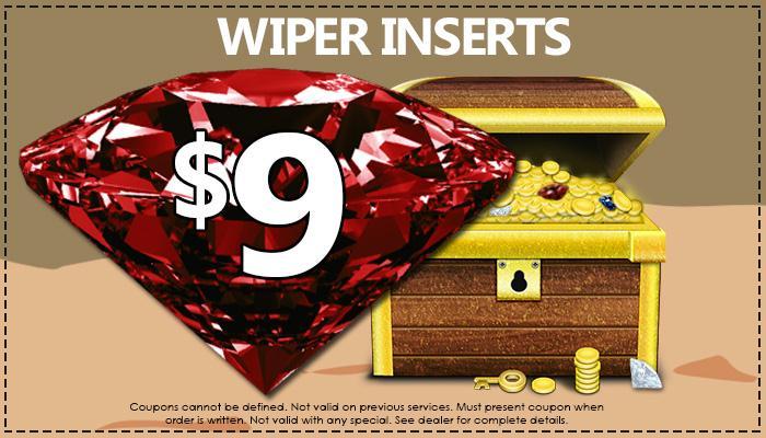 Wiper Inserts