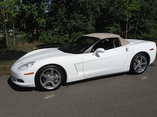 2008 Chevrolet Corvette 3LT, 430 HP Convertible