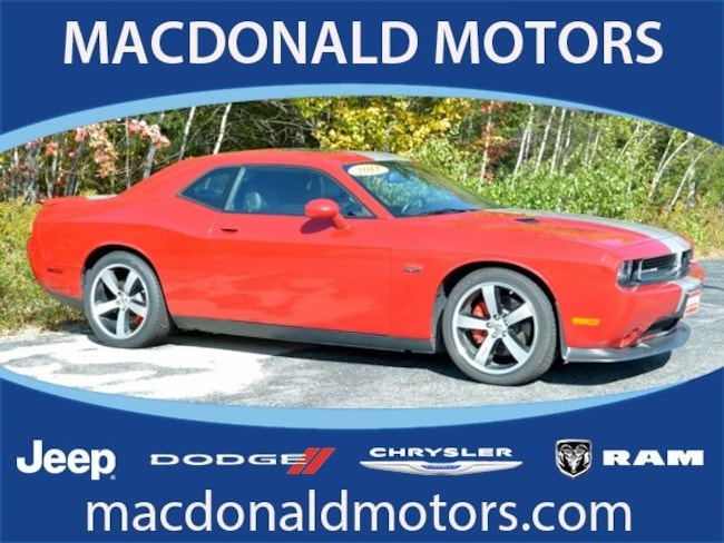 Used 2012 Dodge Challenger SRT8 392 Coupe in Bridgton, ME
