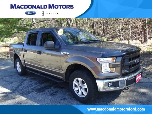 2016 Ford F-150 XL Crew Cab Long Bed Truck