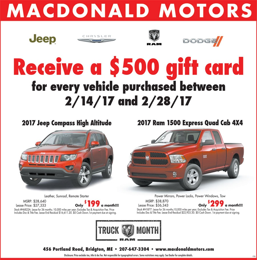 Macdonald Motors Bridgton Maine