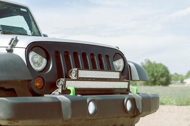 Jeep Wrangler Beats The Heat