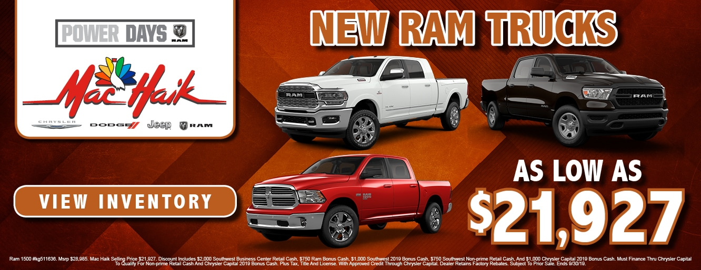 Mac Haik Jackson >> Mac Haik CDJR | New & Used Vehicles for Sale in Jackson, MS
