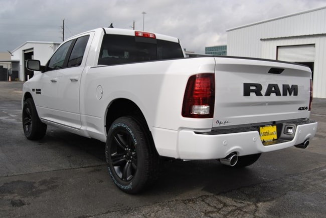 new 2018 ram 1500 night quad cab 4x4 6 39 4 box for sale houston tx. Black Bedroom Furniture Sets. Home Design Ideas