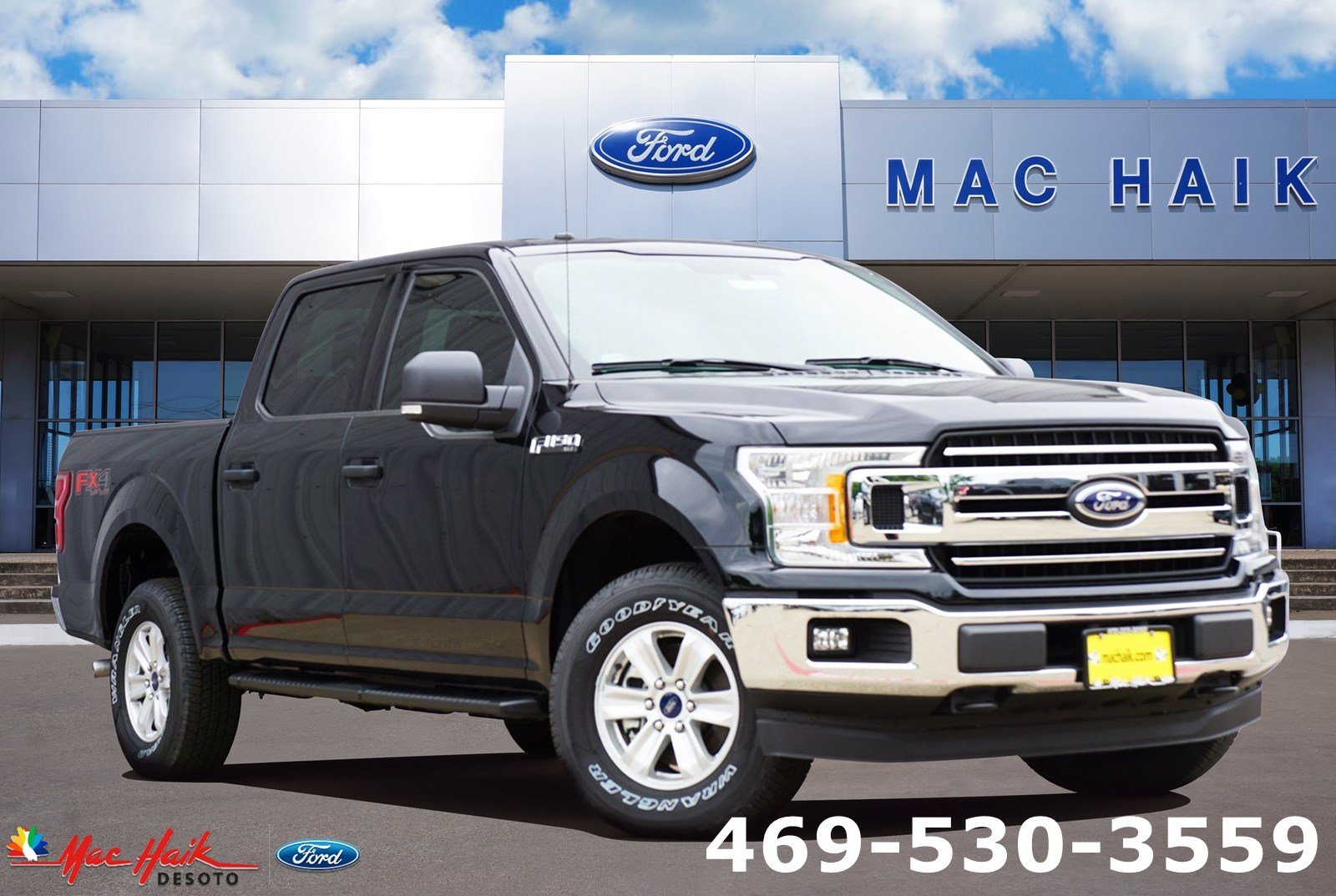 New 2018 Ford F-150 XLT Truck SuperCrew Cab in Desoto, TX