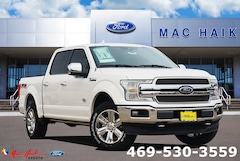 New 2019 Ford F-150 King Ranch Truck SuperCrew Cab 1FTEW1E45KFC07943 in Desoto, TX