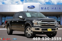 New 2019 Ford F-150 King Ranch Truck SuperCrew Cab 1FTEW1E4XKFB90086 in Desoto, TX