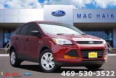 Bargain 2016 Ford Escape S SUV for sale in De Soto, TX