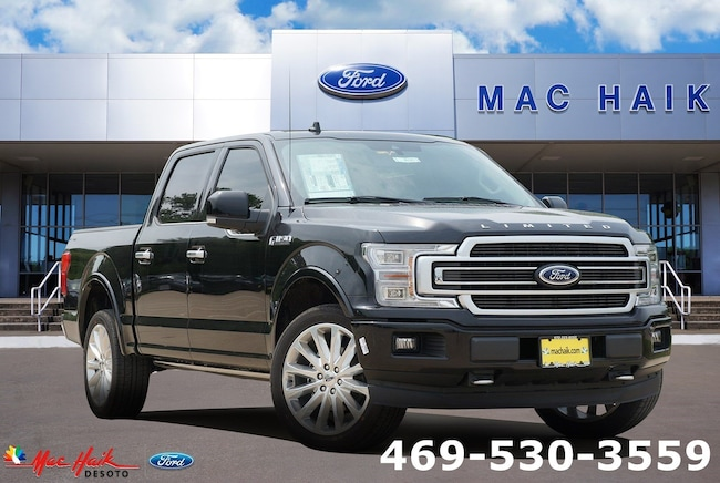 New 2019 Ford F-150 Limited Truck SuperCrew Cab in Desoto, TX