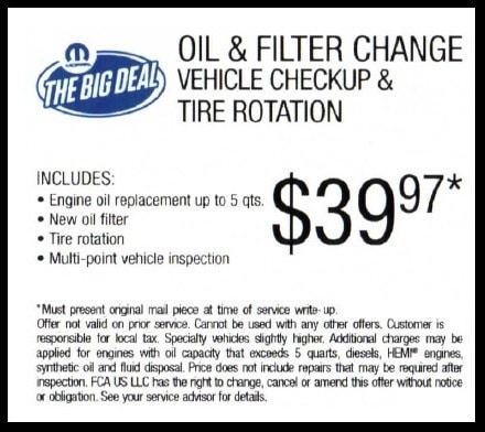 Deals On Oil Changes >> Oil Change In Temple Tx Specials Coupons And Deals