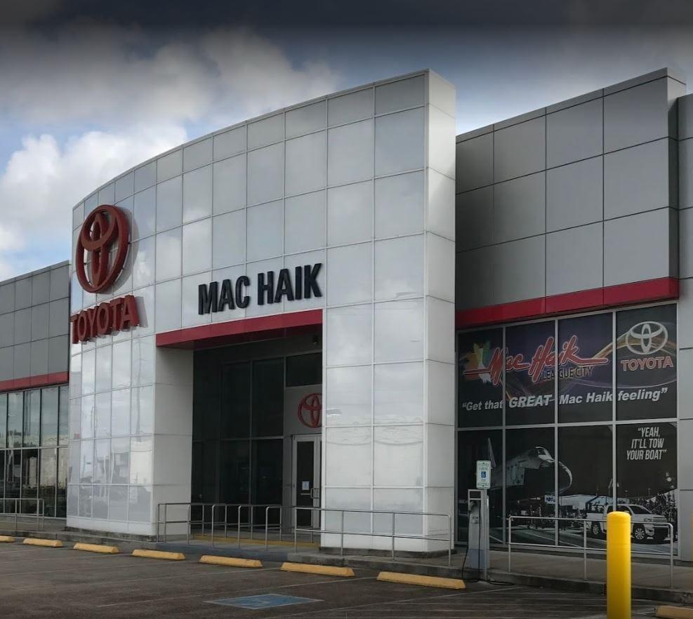 Mak Haik Toyota >> Mac Haik Toyota Toyota Dealership League City Tx Near Houston
