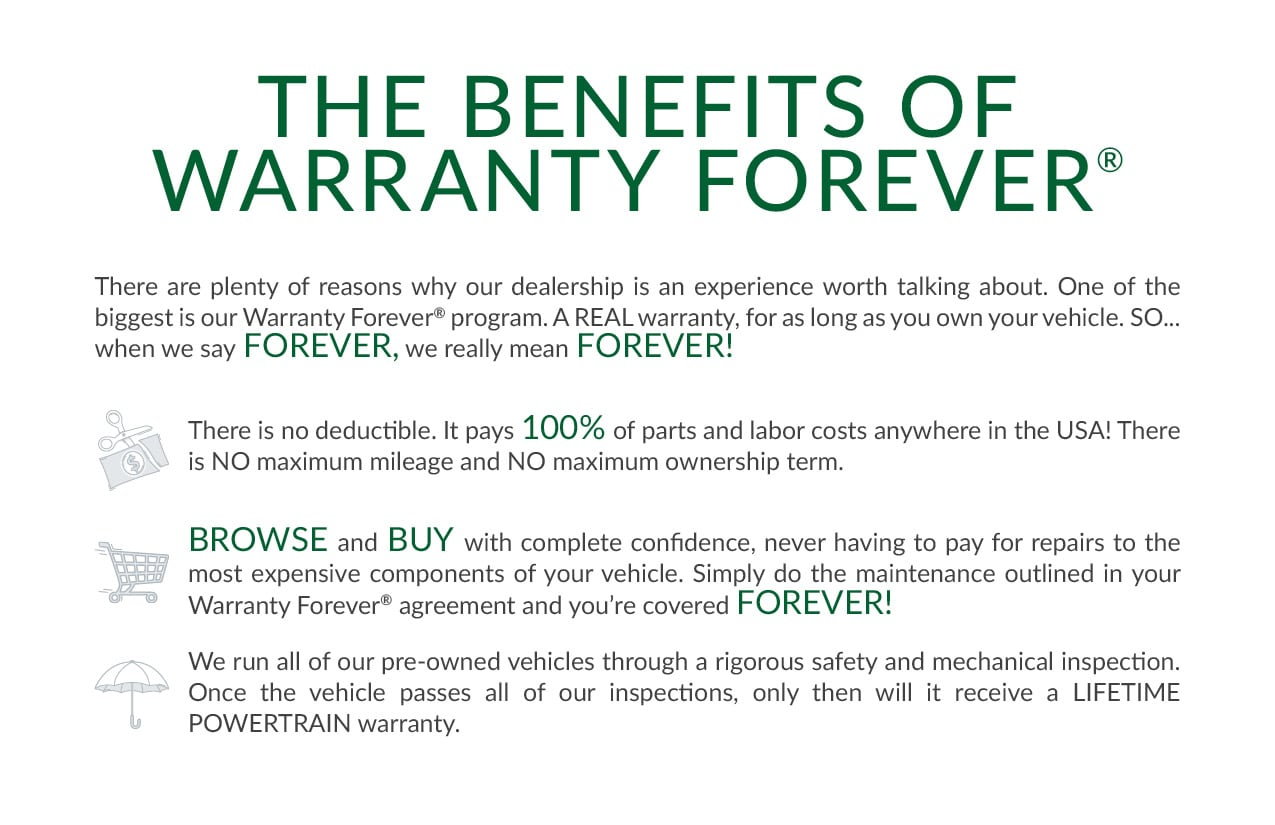 Warranty Forever! | New Way Ford