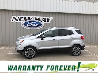 New 2019 Ford EcoSport Titanium Crossover in Coon Rapids, IA