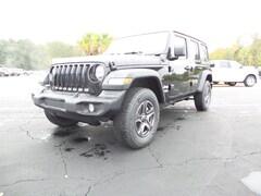 New 2018 Jeep Wrangler UNLIMITED SPORT S 4X4 Sport Utility 1C4HJXDN0JW332467 Columbia MS