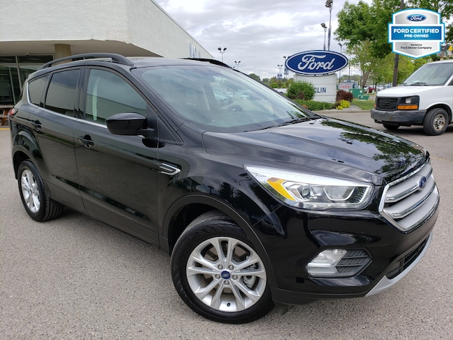 2018 Ford Escape SEL SUV   Certified Pre-Owned