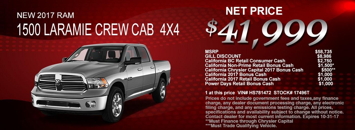 Gill Auto Madera >> Gill Chrysler Dodge Jeep RAM: New & Used Cars | Madera, CA