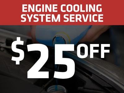 Engine Cooling System Service