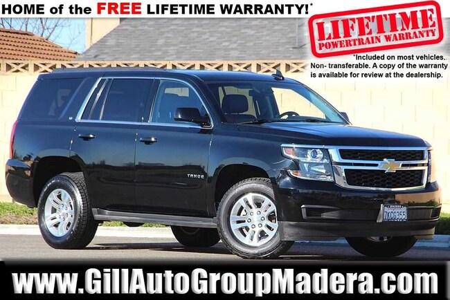 2015 Chevrolet Tahoe LT 4D Sport Utility SUV