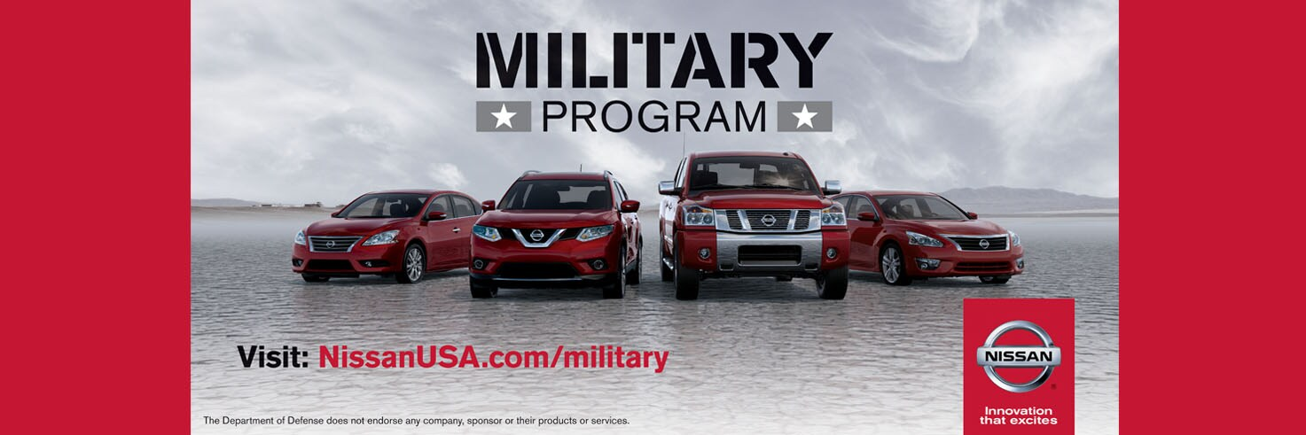 Perfect Nissan Military Program